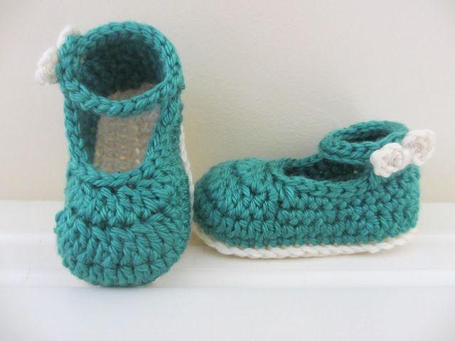 Free Crochet Bow Buckle Mary Janes Pattern Crochetholic