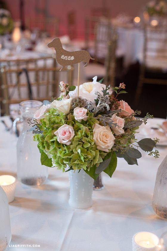 Dyi Crepe Paper And Fresh Flower Centerpieces Diy Wedding