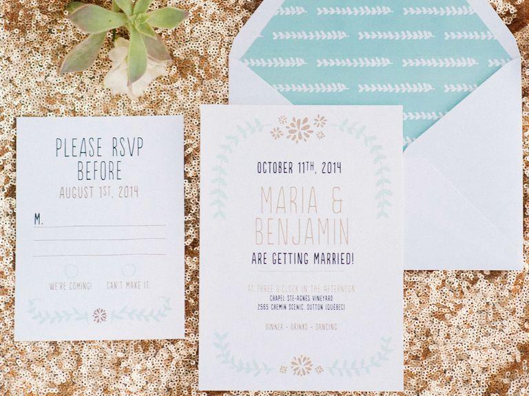 new ideas for modern wedding invitation wording pinterest