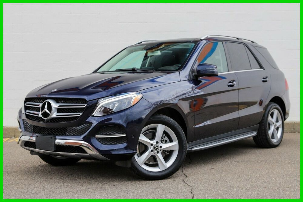 2018 Mercedes Benz Gle 350 Rebuilt Title Parktronic Apple Car Play