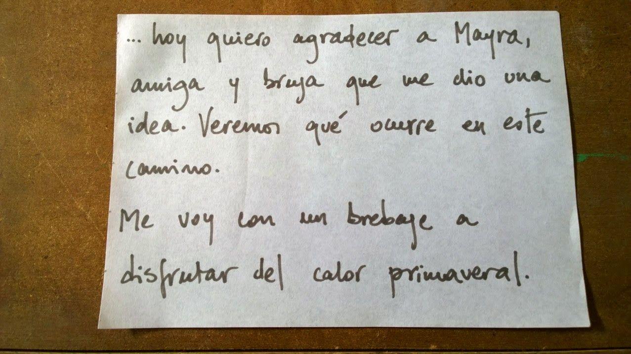 el caldero de mimi: Gracias Mayra!