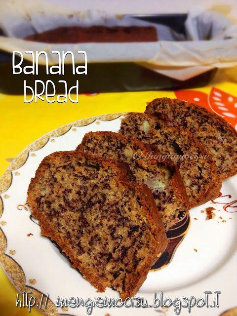 Mangiamoci su: BANANA BREAD