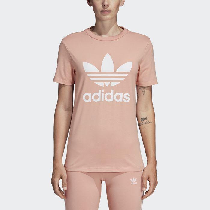 adidas Trefoil Tee Pink adidas Canada  adidas Canada