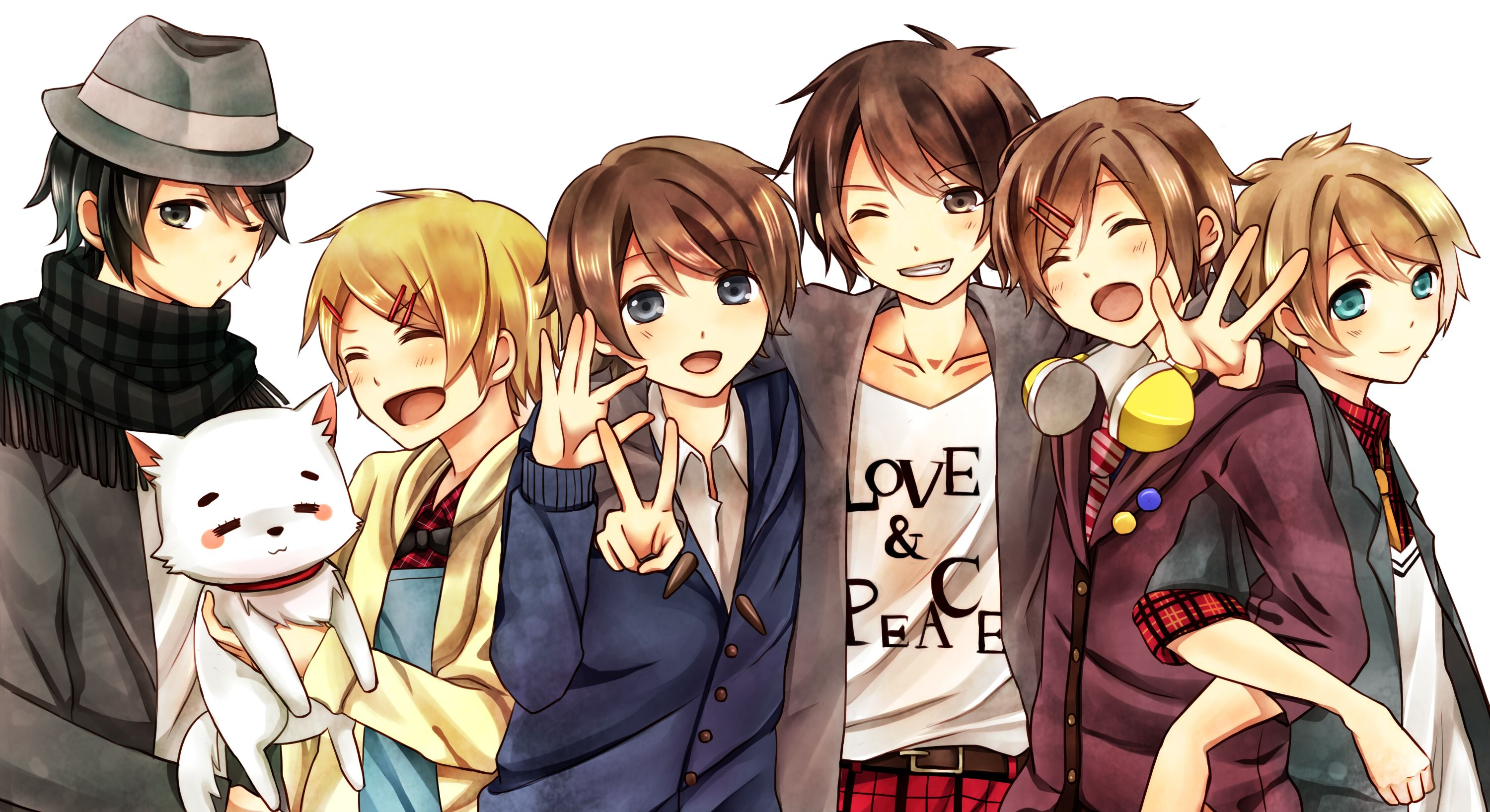 Utaite Circle of Friends wahhhhh my favorite band in the