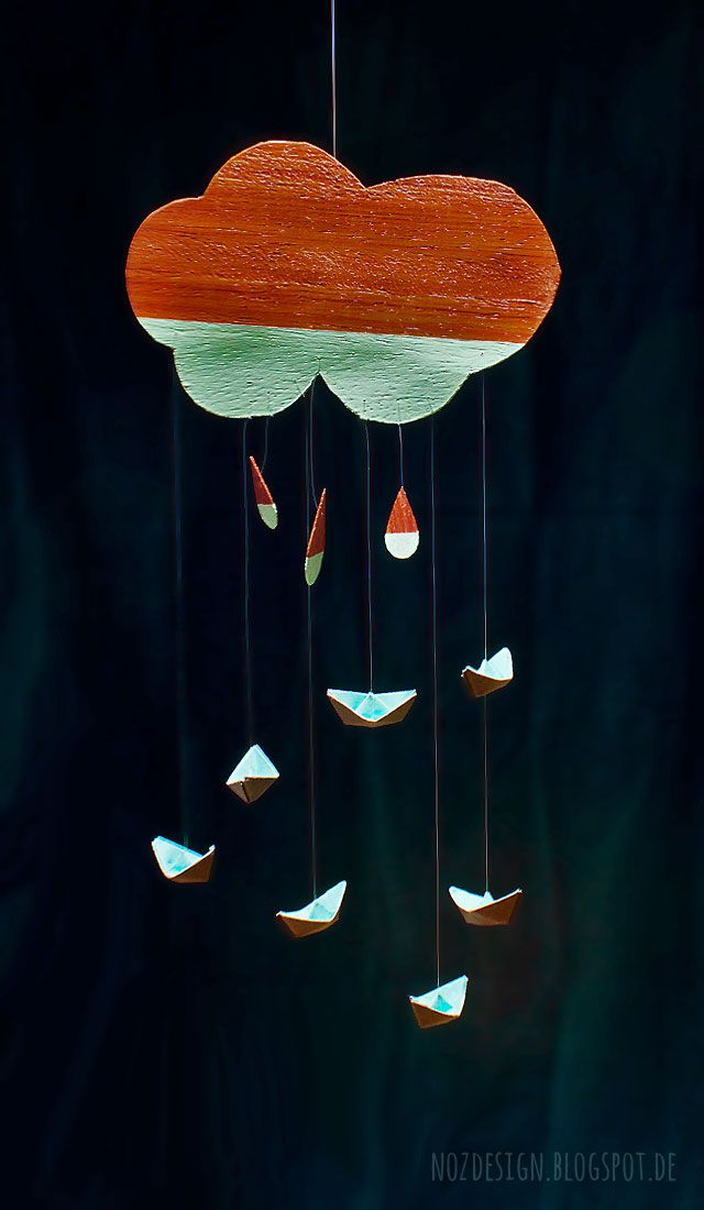 "No. 4 of the art project ""The seven sailors freedom"", which supports the association ""Helenes Helfer e.V."". #windchime #paperboat #papercraft #origami"