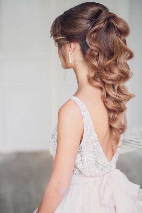 Top 30 Long Wedding Hairstyles For Bride From Art4studio Ponytail Weddings And Hair Style