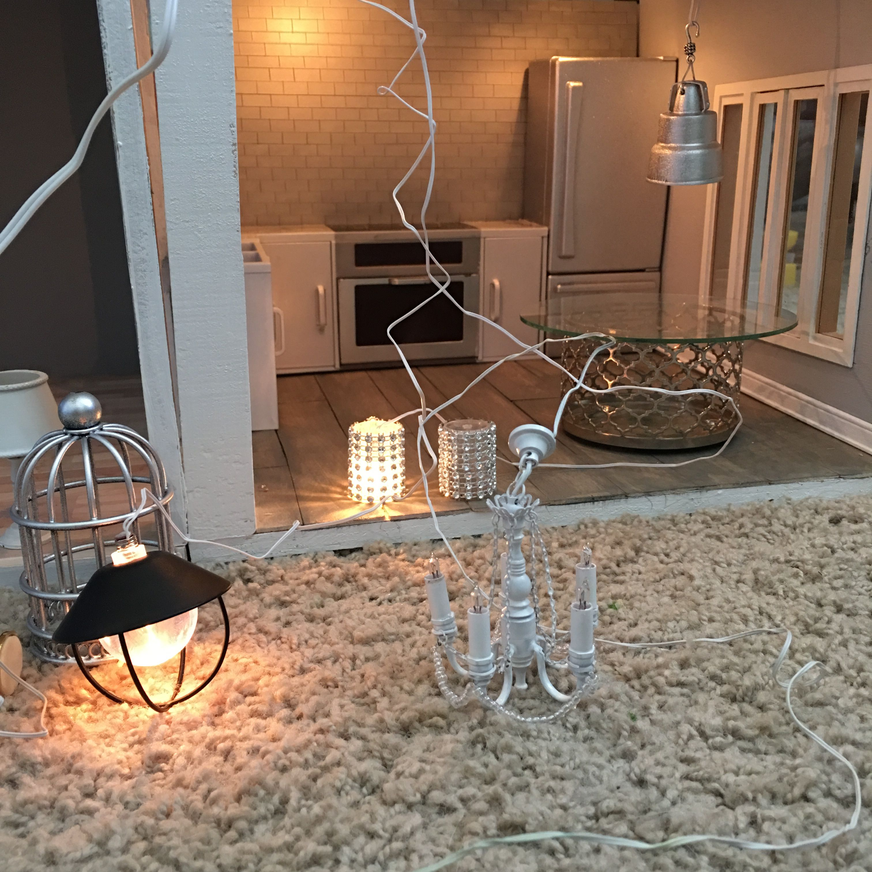 Working With Lighting Fixture Ideas Dollhouse