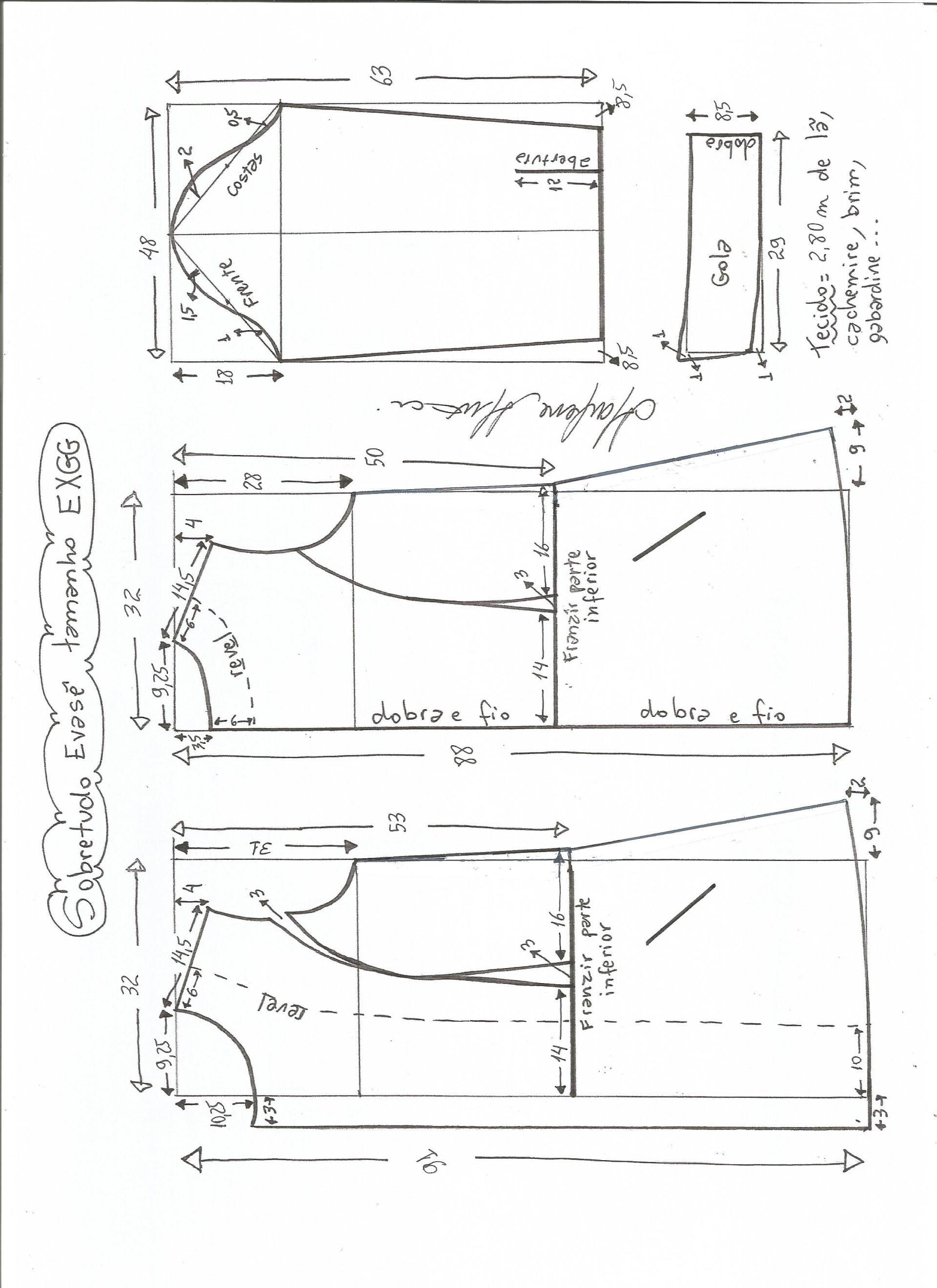 Patrón de abrigo largo entallado | vestidos | Pinterest | Abrigos ...
