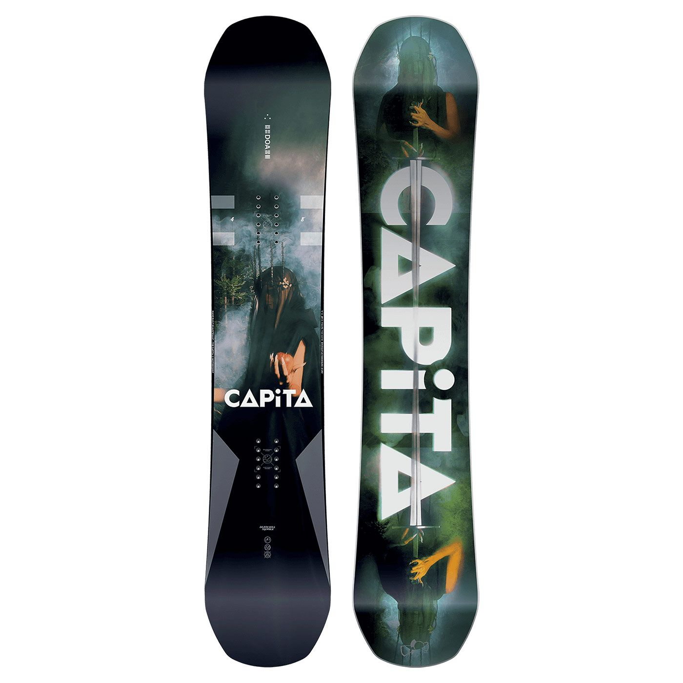 The NEW Capita DOA Defenders Of Awesome Snowboard In Now