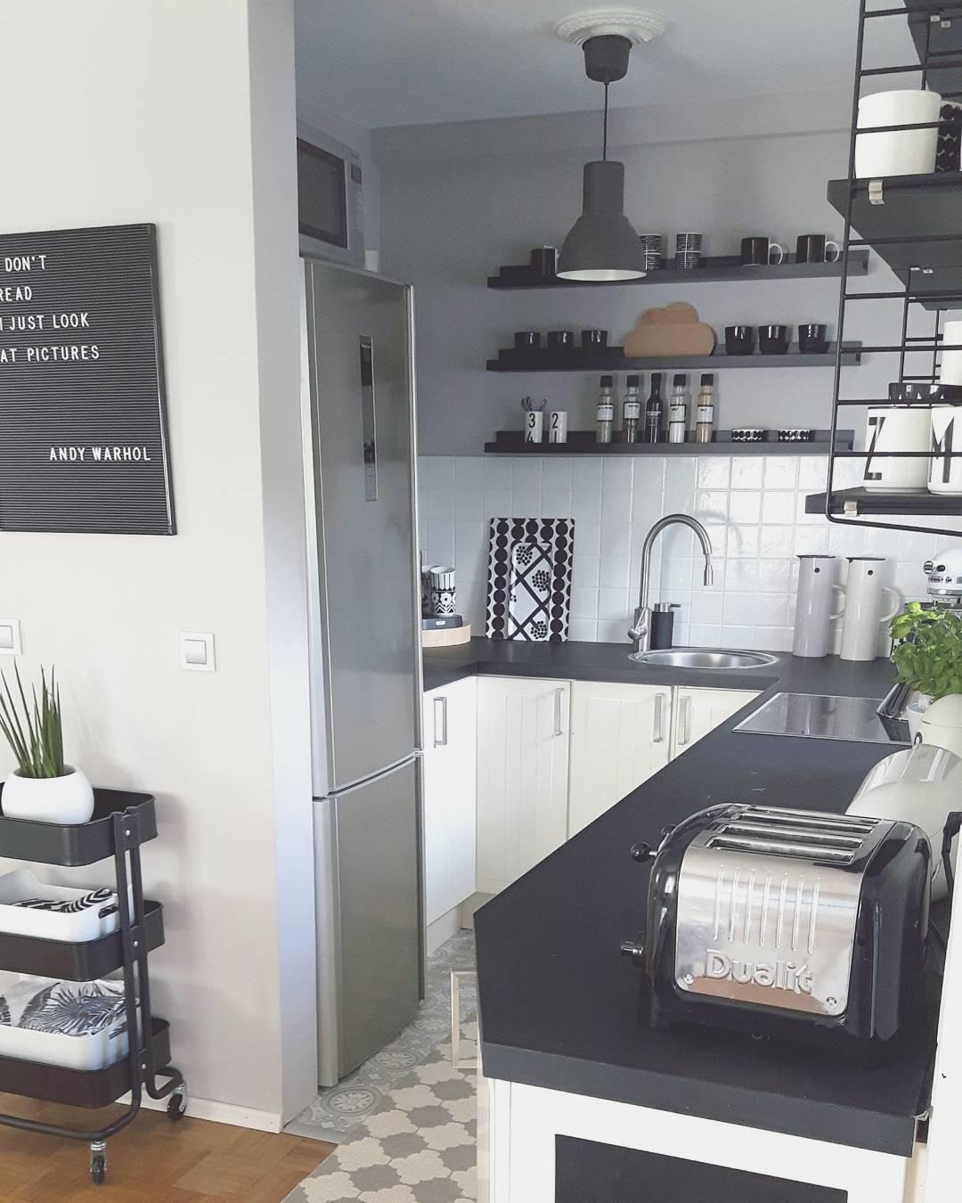 Buchstabentafel Retro Letters 287 Tlg Kitchen Decor Beautiful Kitchens Black Kitchens