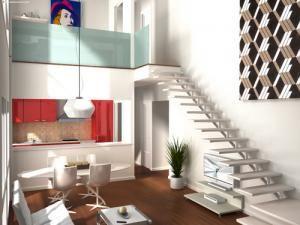 Cmo decorar un loft Decoracin minimalista Pinterest Lofts