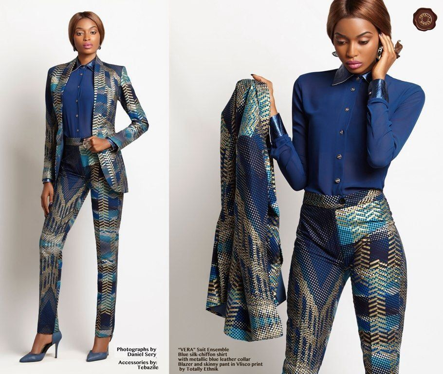Pencil suit ~Latest African Fashion, African women dresses, African Prints, African clothing jackets, skirts, short dresses, African men's fashion, children's fashion, African bags, African shoes ~DK