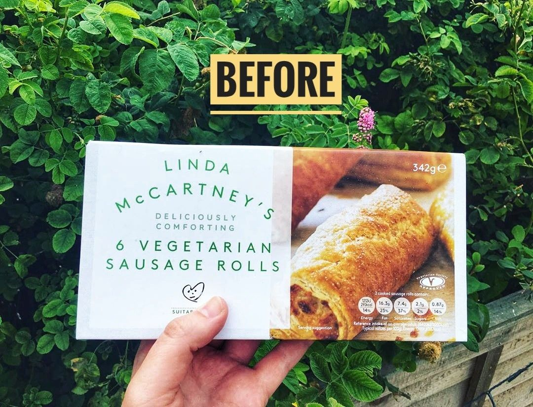 Vegan Sausage Rolls In 2020 Vegan Sausage Rolls Linda Mccartney Food Linda Mccartney Sausages