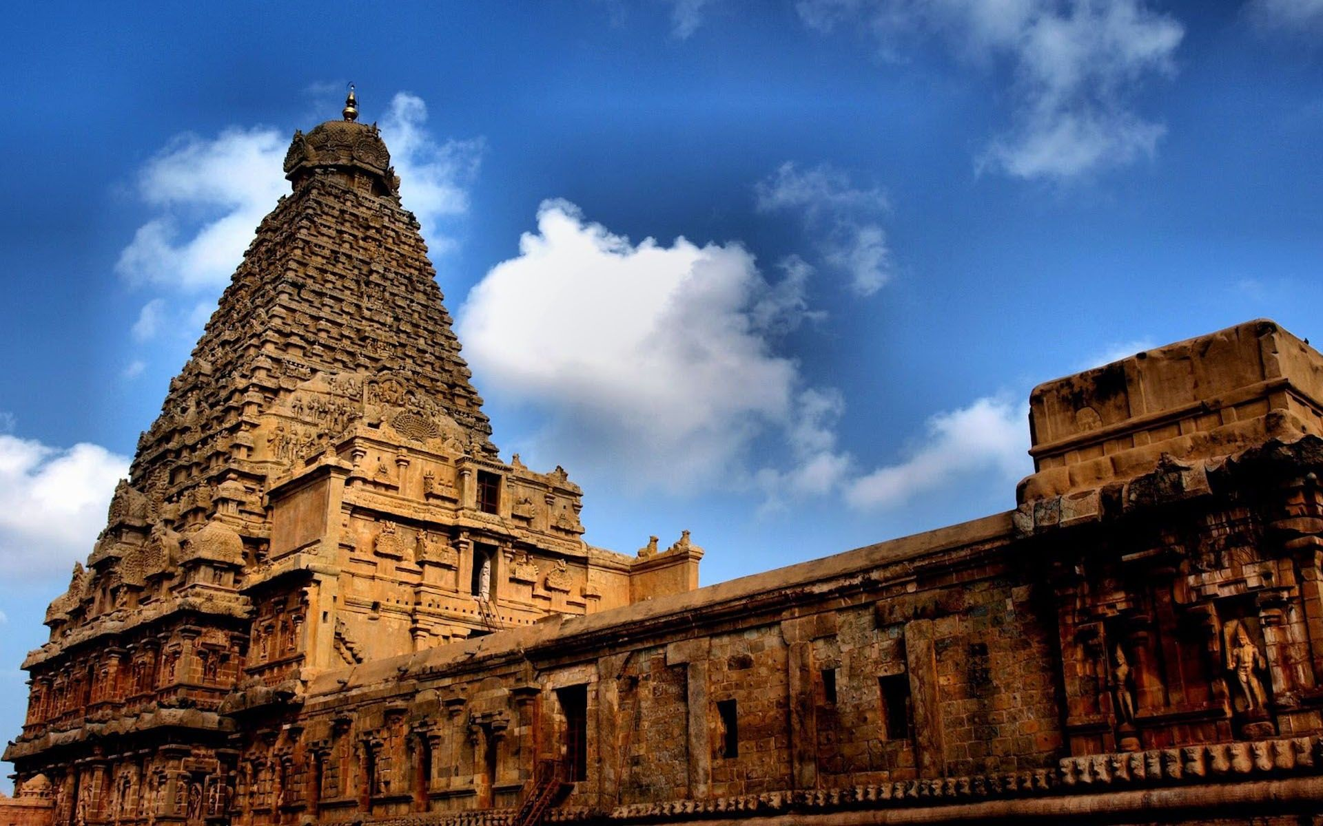 Thanjavur Brihadeeswarar Temple India Hd Wallpapers In 2019