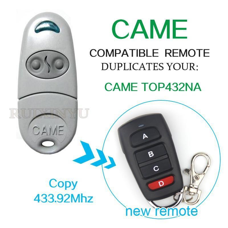 Came Top432na Remote Control Duplicator 433 92mhz Garage Door Remote Control Came Top432na Us 5 94 Garage Door Remote Control Garage Door Remote Universal Remote Control