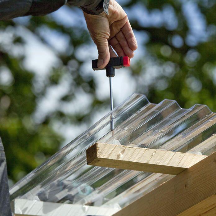 Gartenhaus selber bauen Gartenhaus dach, Gartenhaus