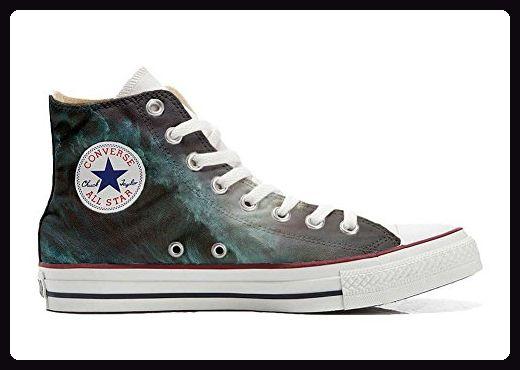 Converse Custom - personalisierte Schuhe (Handwerk Produkt) Perfect Wave -  size EU 46 -