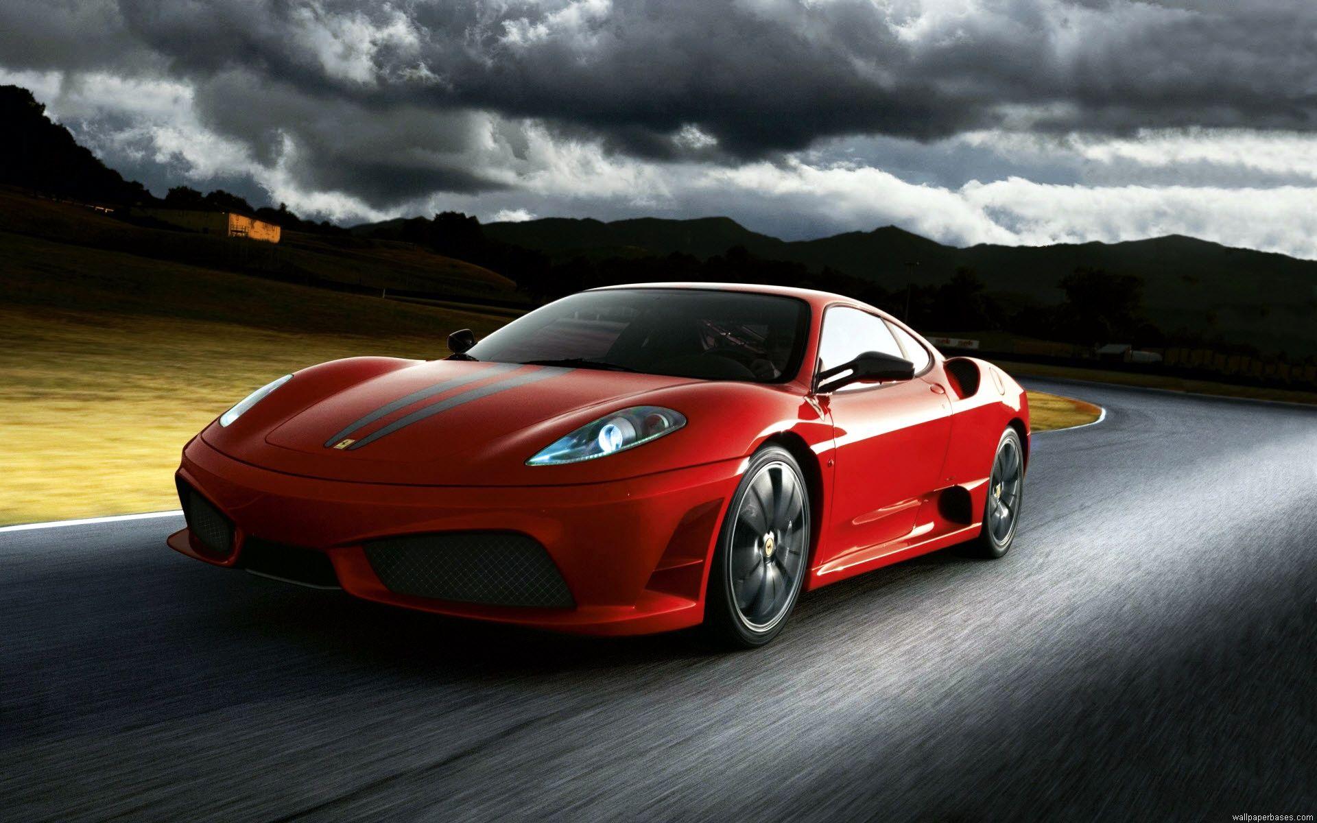 Ferrari F430 Scuderia Red Car Roadster.jpg