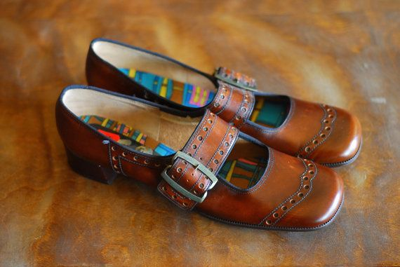 Clarks Classic Vintage Buckle Up Shoes from dolalli