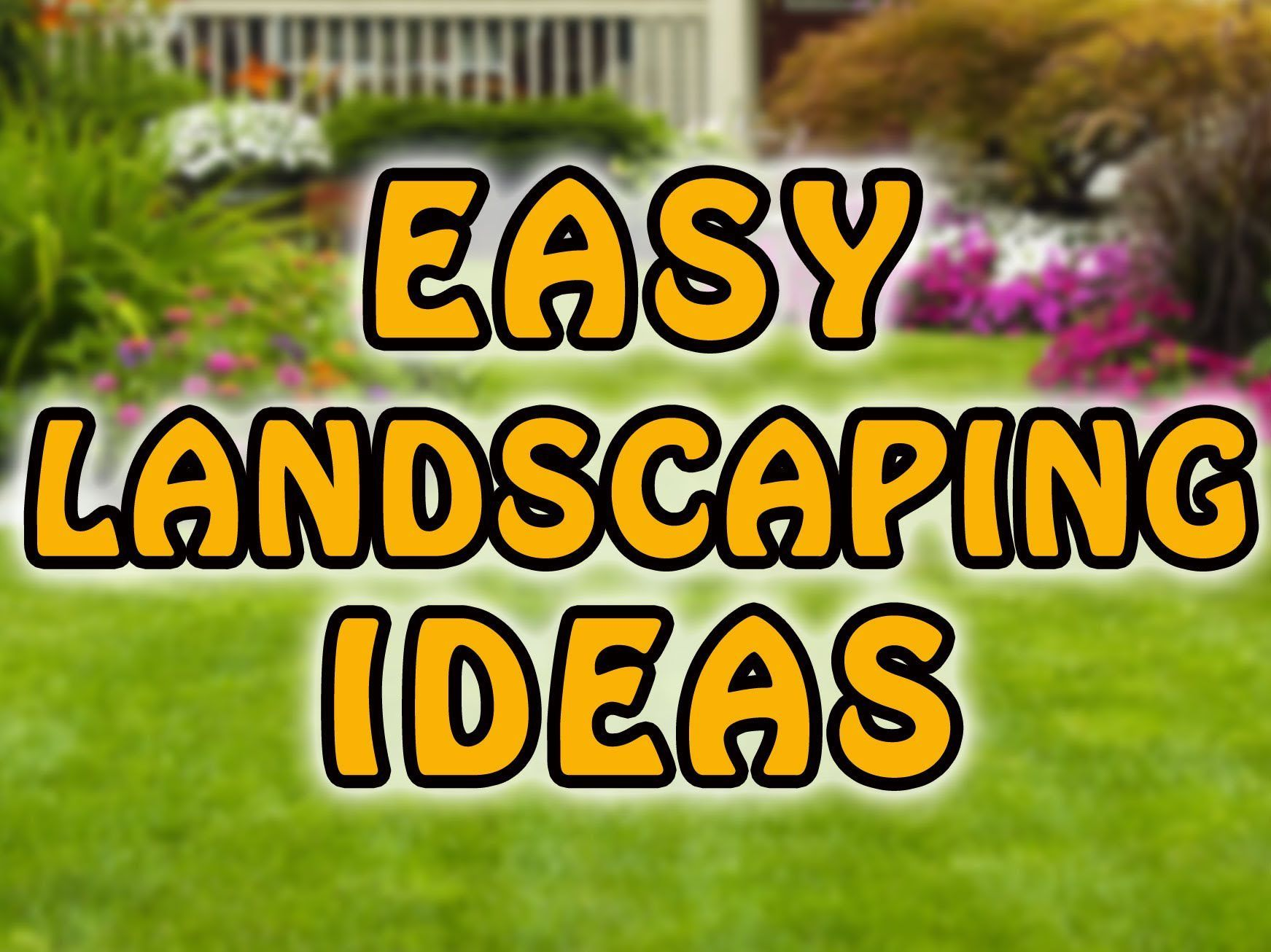 Easy Front Yard Landscaping Ideas - http://cempedak.xyz/073031/easy-front-yard-landscaping-ideas/803/