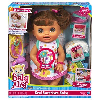 Baby Alive Real Surprises Baby Doll Discontinued By Manufacturer Surprise Baby Baby Alive Dolls Baby Dolls