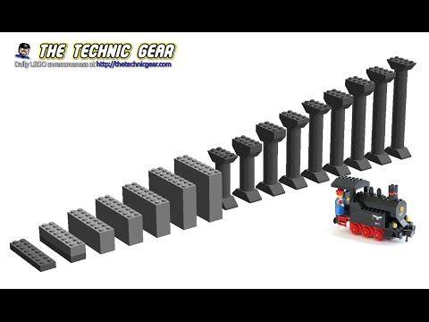 Howto Create Lego Train Inclines Lego Reviews Videos Lego