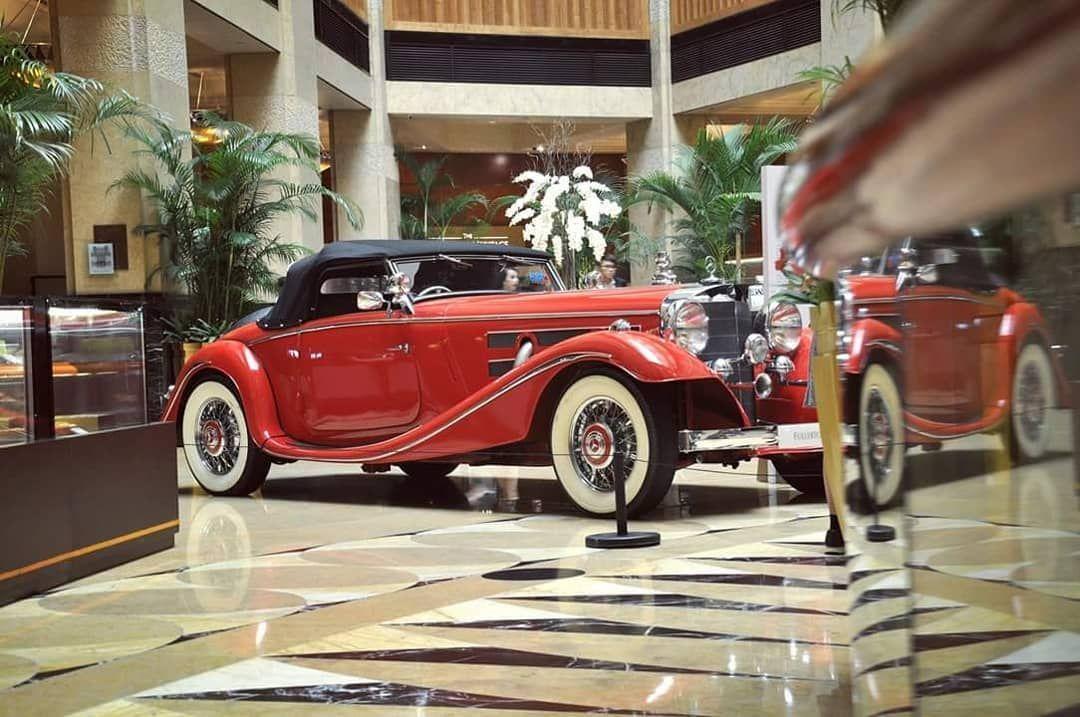 1936 Mercedes Benz 500k At Fullerton Classics 2018 Singapore