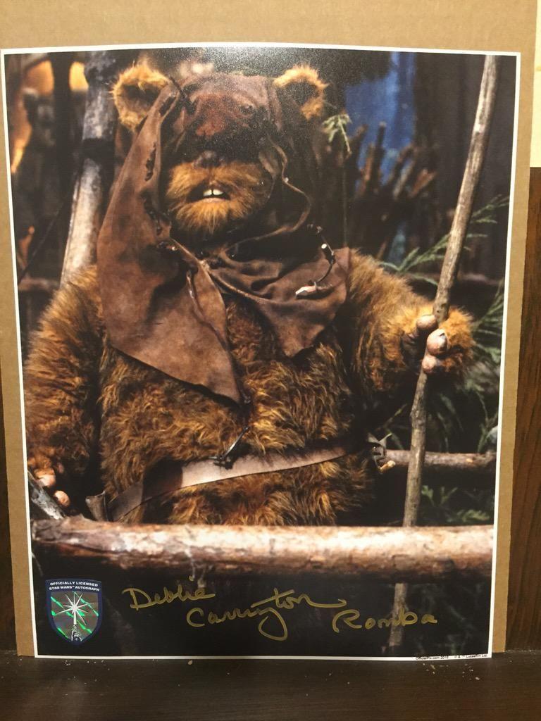 John Holderried On Ewok Star Wars Collection Star Wars