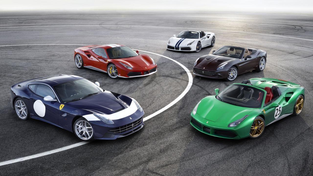These Are Ferrariu0027s 70th Anniversary Cars   Top Gear