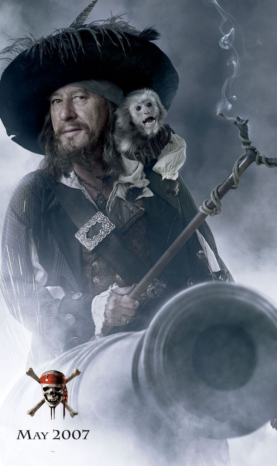 Pirates Of The Caribbean: At World's End Hector Barbossa ...