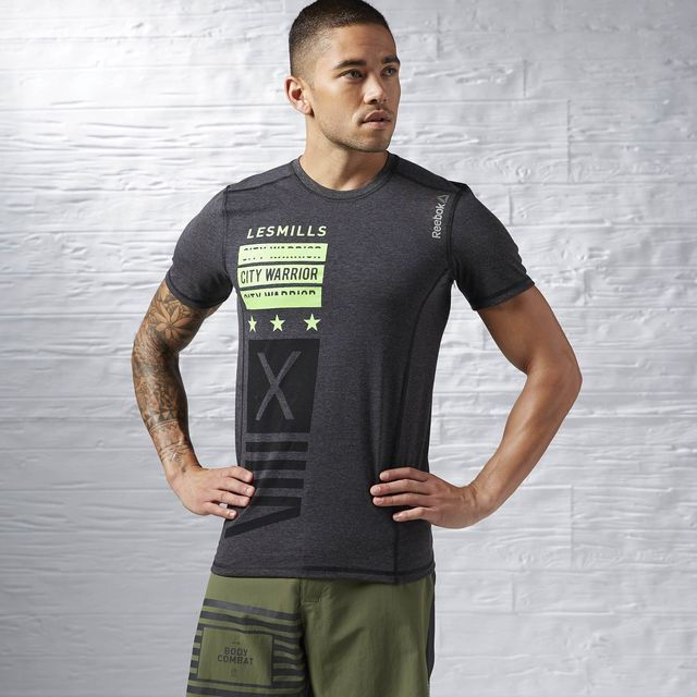 c2672cbb Reebok - LES MILLS BODYCOMBAT Tee | Athletic Apparel | Gym outfit ...