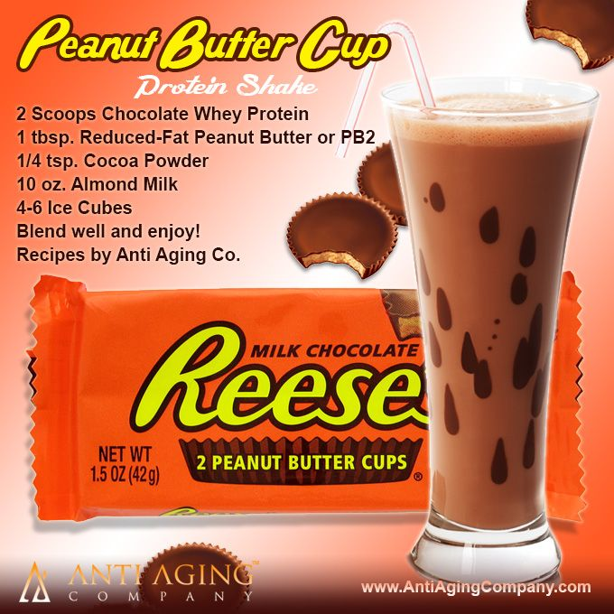 Peanut Butter Cup Protein Shake Recipe from USA Flag Co.