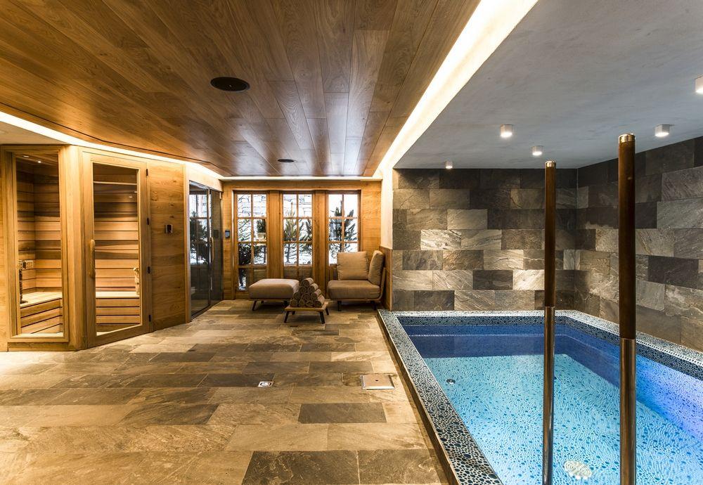 Chalet Chêne - Spa (piscine intérieure chauffée, hammam, sauna - location villa piscine couverte chauffee