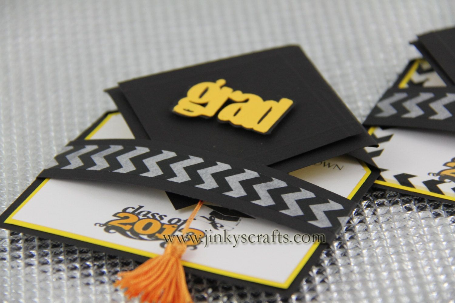 3D Graduation Cap Pop Up Invitations 2013 Unique Announcement Min Order Set Of 25 400 Via Etsy