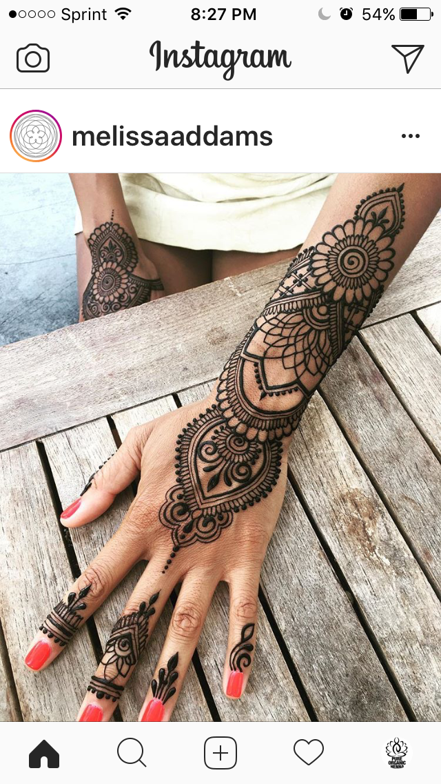 Pin By Henna Kingdom By Pure Organic Henna On Henna Inspiration