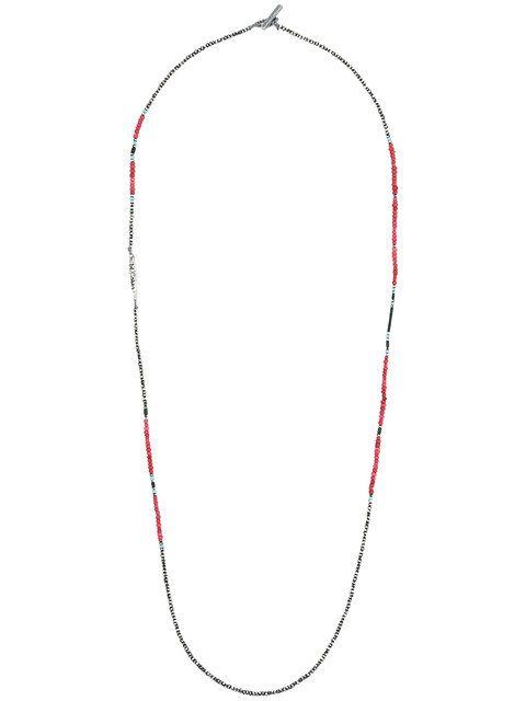 M. Cohen Mens Beaded Necklace w61jr