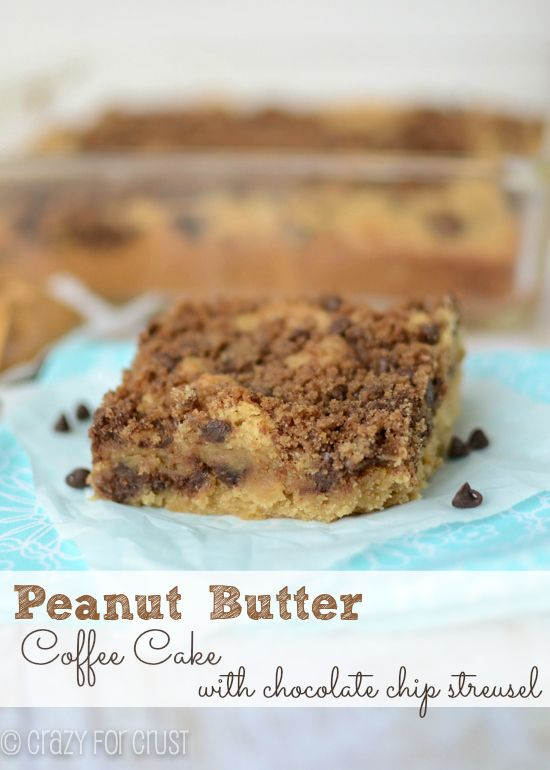 Peanut butter coffee cake recipes easy