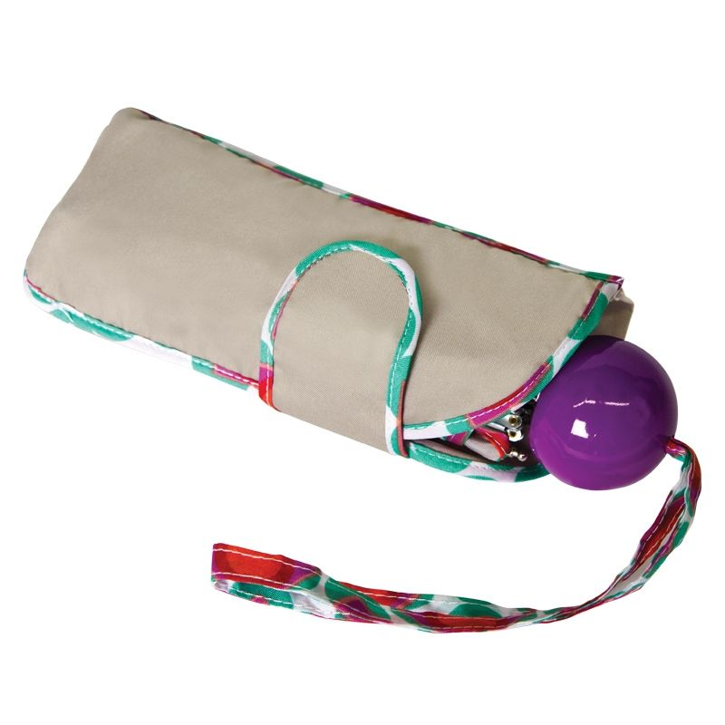 "Wedgy™ ""Fits Anywhere"" Ball Handle Fashion Mini - Umbrellas"