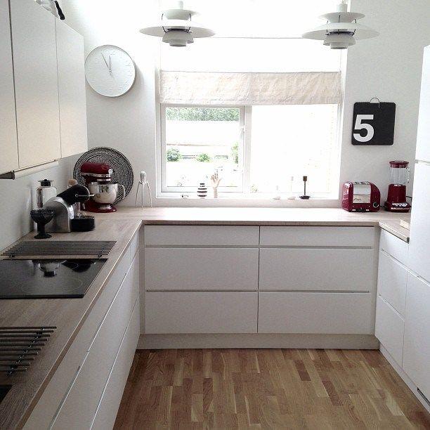 noruega cocinas modernas blancas
