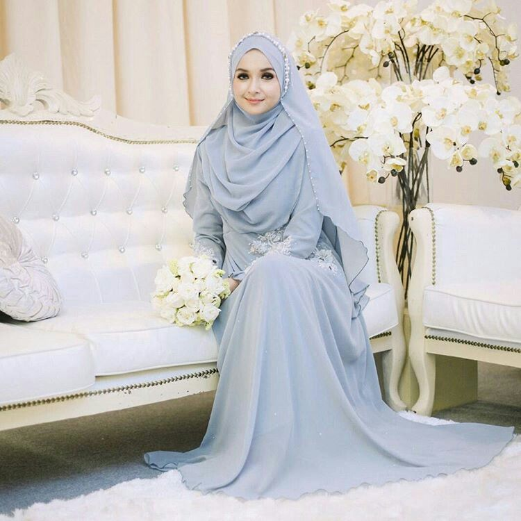 Pin von Riani Amin auf Hijab | Pinterest | Wedding dress ...