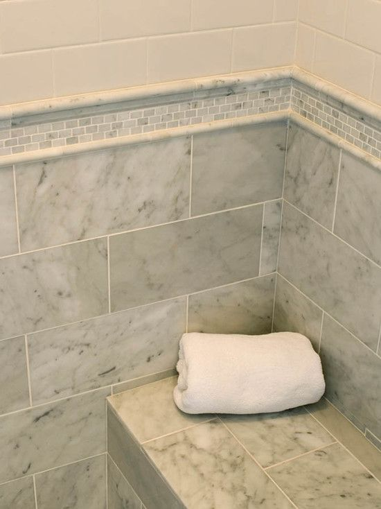suzie mitch wise design subway tiles shower surround mosaic marble inset tiles and - Marble Subway Tile