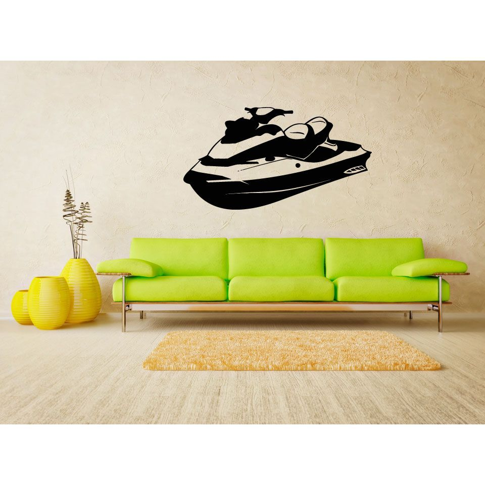 JetSki Extreme A car Wall Art Sticker Decal | Products | Pinterest ...