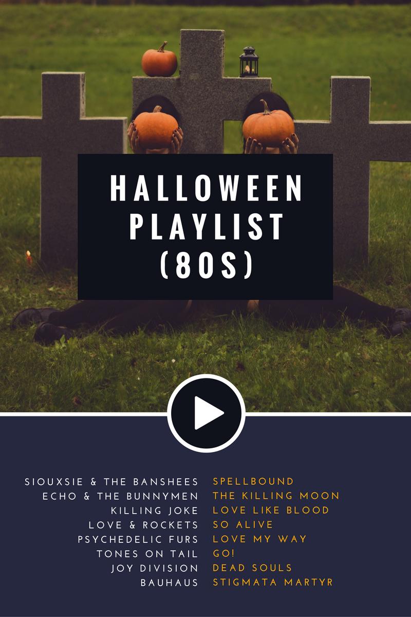 80s halloween playlist / mixtape - goth, new wave | halloween