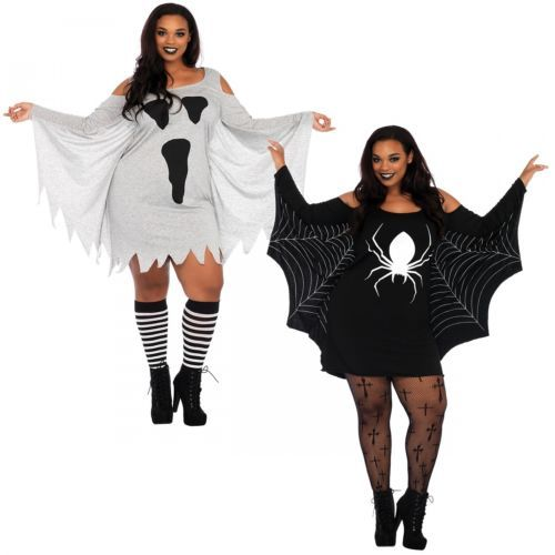 Women 53369 Jersey Dress Halloween Costume Adult Plus Size Fancy