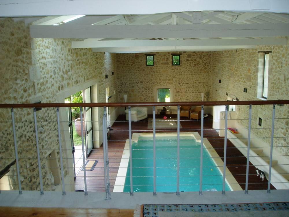 Location Vacances Maison Pompignac Piscine Intrieure Chauffe