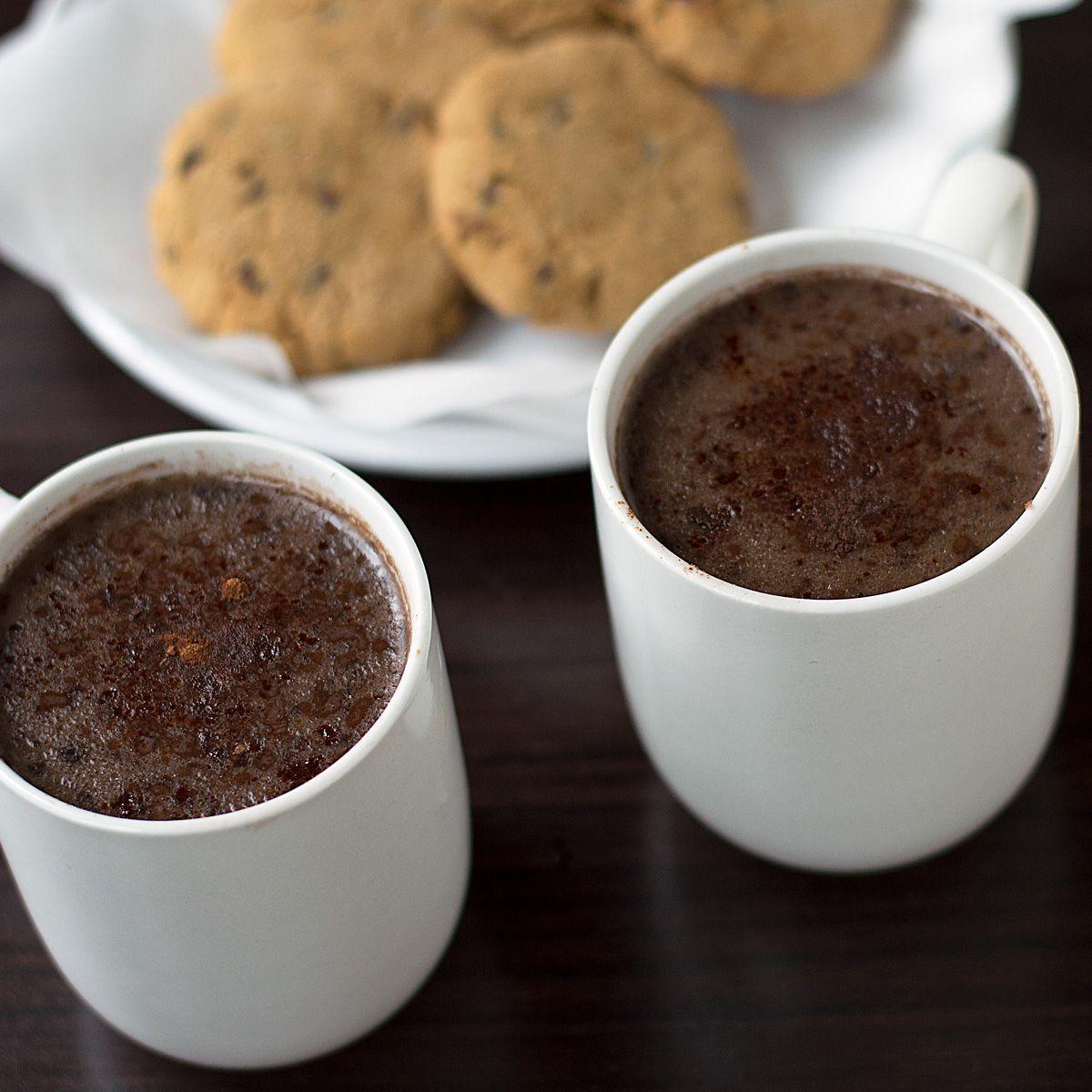 Creamy coconut milk hot chocolate recipe dairy free