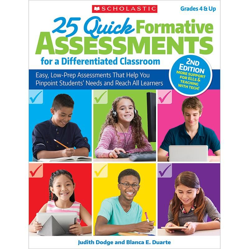 25 quick formative assessments Formative assessment and Products