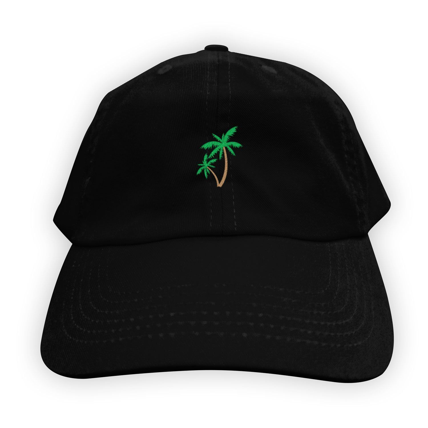 41bacf187be Function - Palm Tree Men s Dad Hat Black in 2019