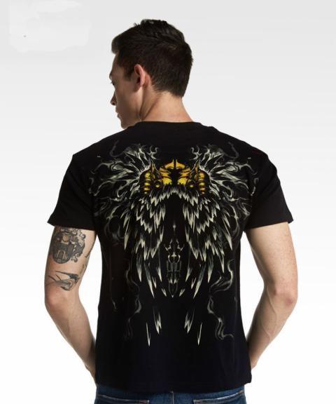 ff7620238a Blizzard Diablo Tyrael T-shirt Limited Edition Black Tees   Blizzard ...