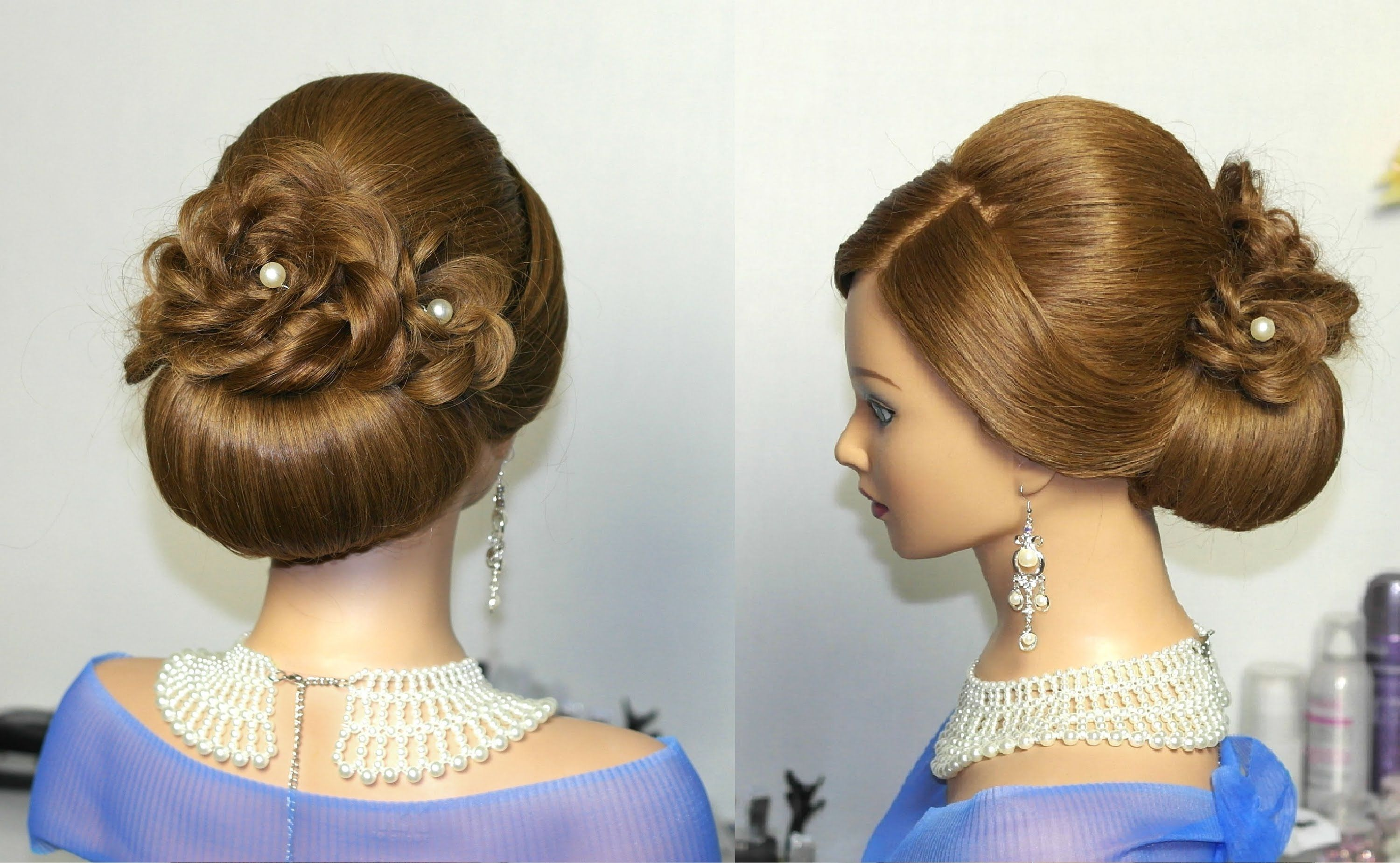 Excellent 1000 Images About Medium Hair Updos On Pinterest Medium Long Prom Hairstyles For Women Draintrainus